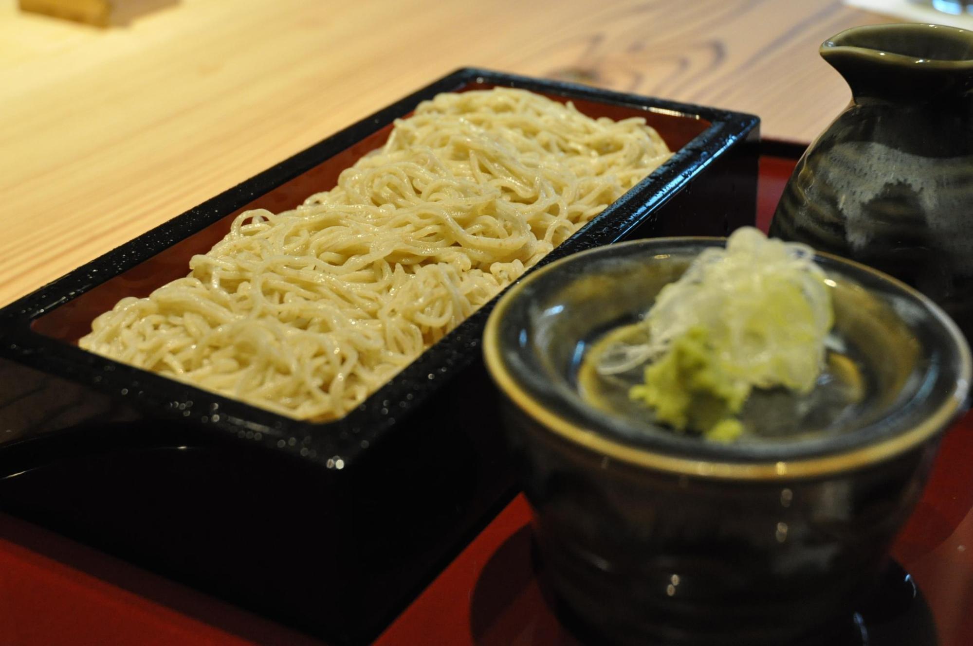 ▲お蕎麦 1500円