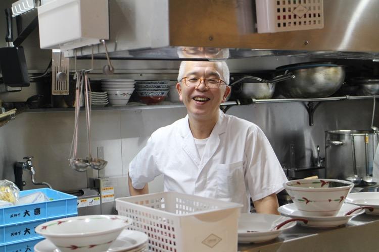 大喜の店主・武川数勇氏
